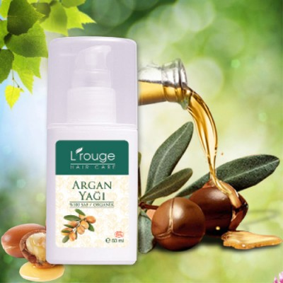 L'rouge %100 Saf Organik Argan Yağı