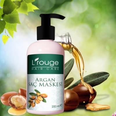 L'rouge Argan Yağlı Saç Bakım Maskesi