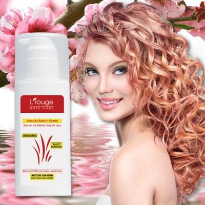 L'rouge Boyalı ve Röfleli Saçlar İçin Anında Bakım Kremi