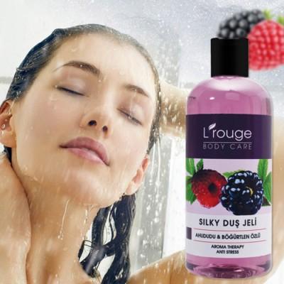 L'rouge Silky Ahududu ve Böğürtlen Özlü Duş Jeli