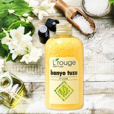 L'rouge Kır Çiçeği Aromalı Banyo Tuzu