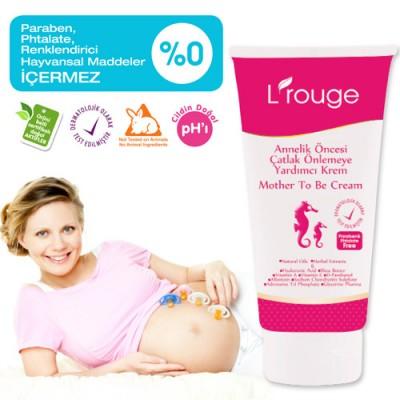 L'rouge Mother To Be Cream Annelik Öncesi Çatlak Önlemeye Yardımcı Krem