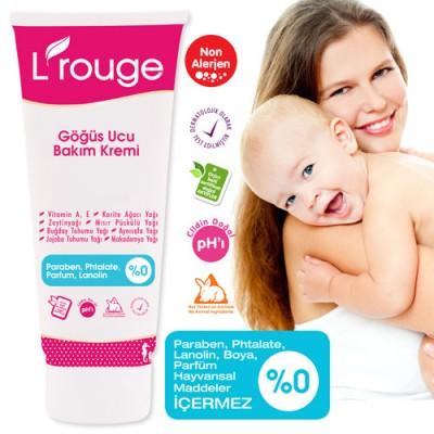 L'rouge Moisturising Nipple Care Cream Göğüs Ucu Bakım Kremi / L'rouge Крем для ухода за сосками
