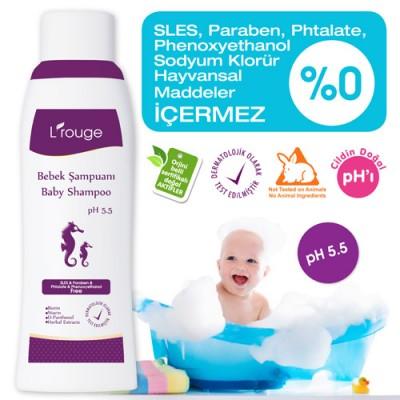 L'rouge Baby Shampoo Bebek Şampuanı / L'rouge Шампунь детский для новорожденных
